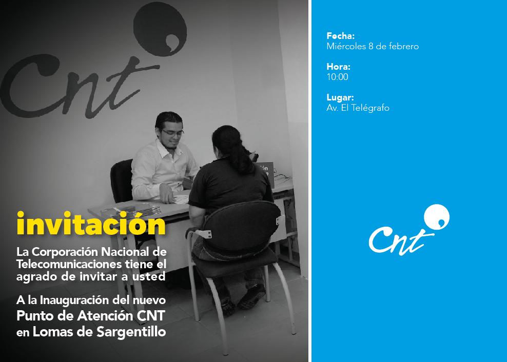 Punto de Atención CNT en Lomas de Sargentillo (invitación)