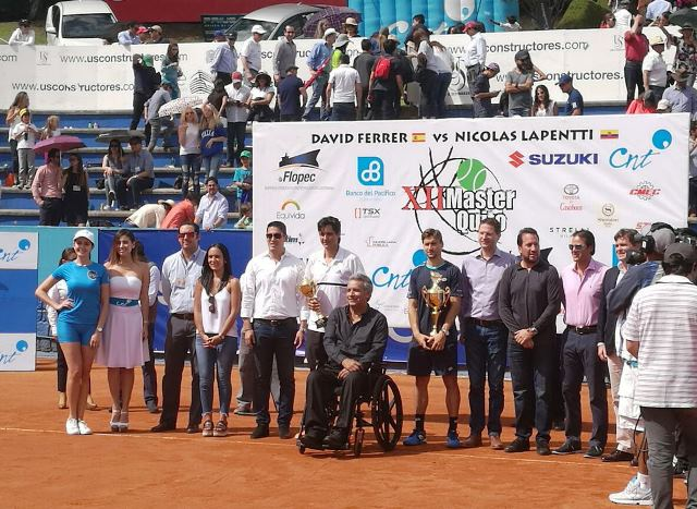 XII MÁSTER TENIS QUITO – COPA CNT